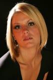 όμορφη ξανθή γυναίκα Στοκ φωτογραφίες με δικαίωμα ελεύθερης χρήσης