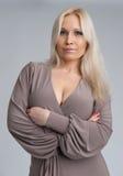 όμορφη ξανθή γυναίκα Στοκ Εικόνες