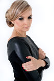 Όμορφη ξανθή νέα γυναίκα Στοκ φωτογραφία με δικαίωμα ελεύθερης χρήσης