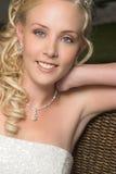 όμορφη ξανθή νύφη Στοκ φωτογραφίες με δικαίωμα ελεύθερης χρήσης