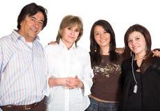 όμορφη οικογένεια Στοκ Εικόνες