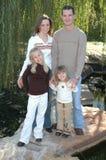 όμορφη οικογένεια στοκ εικόνα