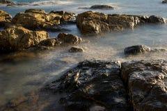 Όμορφη ομίχλη θάλασσας στοκ φωτογραφία με δικαίωμα ελεύθερης χρήσης