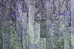 Όμορφη παλαιά μπλε φυσική quartzite σύσταση τούβλων πετρών για οποιουσδήποτε λόγους στοκ φωτογραφία