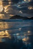 όμορφη παράκτια σκηνή Στοκ εικόνα με δικαίωμα ελεύθερης χρήσης