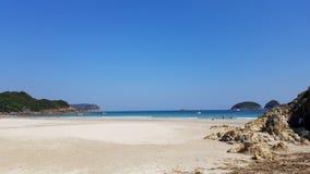 Όμορφη παραλία, παραλία κασσίτερου ζαμπόν, Χονγκ Κονγκ στοκ εικόνες με δικαίωμα ελεύθερης χρήσης