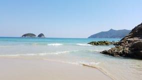 Όμορφη παραλία κασσίτερου ζαμπόν, Sai Kung, Χονγκ Κονγκ στοκ εικόνα με δικαίωμα ελεύθερης χρήσης