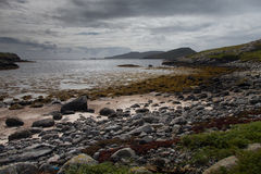 Όμορφη παραλία στο νησί Barra Στοκ Εικόνα
