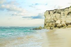 Όμορφη παραλία του νησιού Sumba στοκ εικόνα