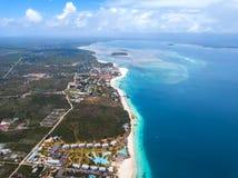 Όμορφη παραλία Zanzibar Nungwi στοκ φωτογραφίες