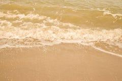 Όμορφη παραλία άμμου Στοκ φωτογραφία με δικαίωμα ελεύθερης χρήσης