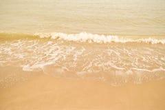 Όμορφη παραλία άμμου Στοκ Φωτογραφία