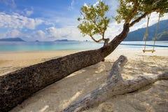 Όμορφη παραλία θάλασσας της andaman θάλασσας Myanmar νησιών phee nyuang oo Στοκ φωτογραφία με δικαίωμα ελεύθερης χρήσης