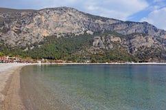 Όμορφη παραλία κοντά σε Bodrum, Τουρκία Στοκ Εικόνες