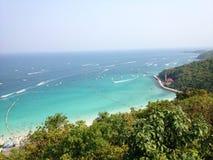 Όμορφη παραλία σε Pattaya Στοκ φωτογραφία με δικαίωμα ελεύθερης χρήσης