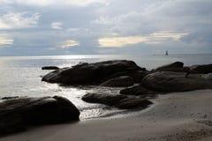 Όμορφη παραλία της Ταϊλάνδης Στοκ εικόνες με δικαίωμα ελεύθερης χρήσης