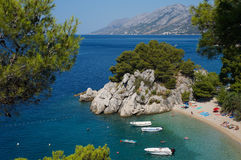 Όμορφη παραλία στοκ εικόνες με δικαίωμα ελεύθερης χρήσης