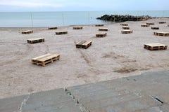 όμορφη παραλία Στοκ φωτογραφίες με δικαίωμα ελεύθερης χρήσης
