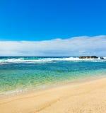 Όμορφη παραλία gris-Gris Στοκ φωτογραφίες με δικαίωμα ελεύθερης χρήσης
