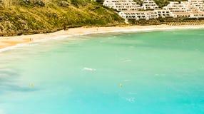 Όμορφη παραλία Minorca Στοκ εικόνα με δικαίωμα ελεύθερης χρήσης