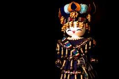 Όμορφη παραδοσιακή χειροποίητη κούκλα του Ουζμπεκιστάν Στοκ Εικόνες
