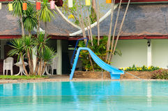 Όμορφη πισίνα στοκ εικόνες με δικαίωμα ελεύθερης χρήσης