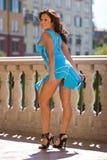 όμορφη προκλητική γυναίκα στοκ φωτογραφία