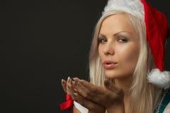 όμορφη προκλητική γυναίκα πορτρέτου Στοκ Εικόνες