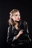 Όμορφη προκλητική ξανθή εικόνα στούντιο Στοκ Εικόνες