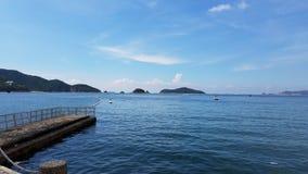 Όμορφη προοπτική Repulse στον κόλπο, Χονγκ Κονγκ στοκ φωτογραφίες με δικαίωμα ελεύθερης χρήσης