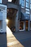 Όμορφη πρόσοψη σπιτιών σε Kampen στοκ φωτογραφία με δικαίωμα ελεύθερης χρήσης