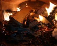 όμορφη πυρκαγιά Στοκ φωτογραφία με δικαίωμα ελεύθερης χρήσης