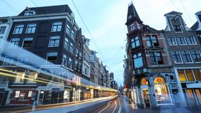 Όμορφη πόλη του Άμστερνταμ στοκ φωτογραφία
