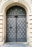 Όμορφη πόρτα στην Πράγα στοκ φωτογραφία με δικαίωμα ελεύθερης χρήσης