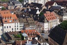 Όμορφη πόλη Στρασβούργο στην Αλσατία στη Γαλλία Στοκ φωτογραφία με δικαίωμα ελεύθερης χρήσης