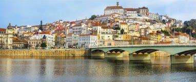 Όμορφη πόλη της Κοΐμπρα, Πορτογαλία Στοκ Εικόνα