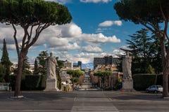 Όμορφη πόλη της Ρώμης Στοκ φωτογραφία με δικαίωμα ελεύθερης χρήσης