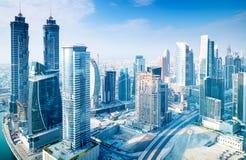 Όμορφη πόλη του Ντουμπάι Στοκ Φωτογραφία