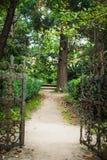 Όμορφη πύλη στο πάρκο Στοκ φωτογραφία με δικαίωμα ελεύθερης χρήσης