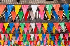 Όμορφη σημαία κομμάτων Στοκ Εικόνες