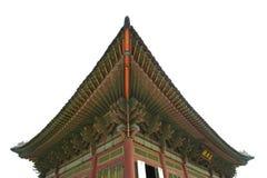 όμορφη στέγη παλατιών της Κορέας kyongbok Στοκ Εικόνα