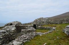 Όμορφη συλλογή των καλυβών κυψελών στην Ιρλανδία στοκ φωτογραφίες