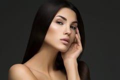 όμορφη τέλεια γυναίκα δερ στοκ φωτογραφία με δικαίωμα ελεύθερης χρήσης