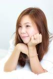 Όμορφη ταϊλανδική γυναίκα Στοκ φωτογραφία με δικαίωμα ελεύθερης χρήσης