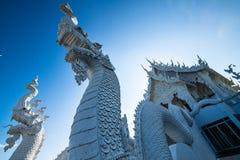 Όμορφη ταϊλανδική εκκλησία ύφους στο ναό Hyuaplakang στοκ φωτογραφίες