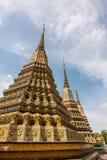 Όμορφη ταϊλανδική παγόδα σε Wat Pho, Ταϊλάνδη Στοκ Εικόνα