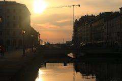 Όμορφη Τεργέστη, Ιταλία Στοκ εικόνα με δικαίωμα ελεύθερης χρήσης
