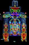 Όμορφη τμηματική ελαφριά ρύθμιση λ ε δ εικόνας Θεών στοκ εικόνες