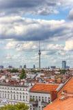 Όμορφη τοπ άποψη του Βερολίνου, Γερμανία Καλοκαίρι 2017 Στοκ Εικόνες
