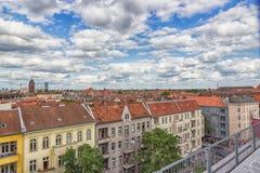 Όμορφη τοπ άποψη του Βερολίνου, Γερμανία Τον Αύγουστο του 2017 Στοκ εικόνα με δικαίωμα ελεύθερης χρήσης